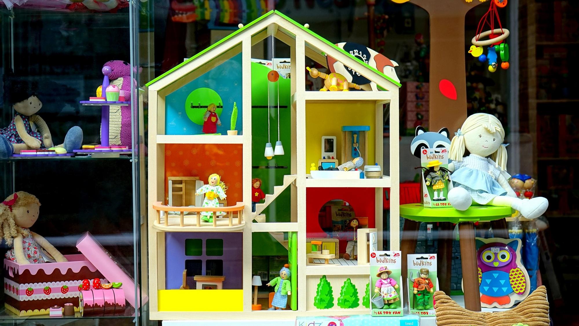 boutique de jouets d'occasion revalorisés