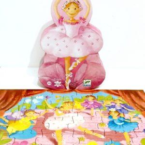 Puzzle La ballerine à la fleur DJECO
