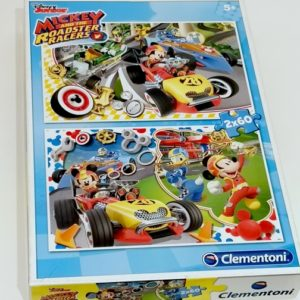 Puzzles Mickey and the roadster racer CLEMENTONI